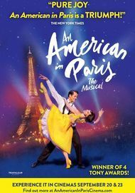 """Movie poster for """"AN AMERICAN IN PARIS: THE MUSICAL"""""""