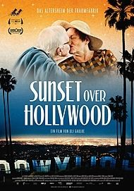 """Movie poster for """"Sunset over Hollywood"""""""