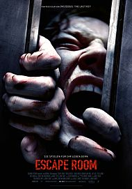 """Movie poster for """"ESCAPE ROOM"""""""