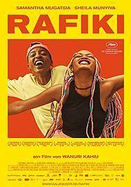 """Filmplakat für """"RAFIKI"""""""