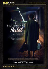 """Filmplakat für """"Deutschland im Herbst"""""""