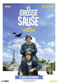 """Filmplakat für """"Die große Sause"""""""