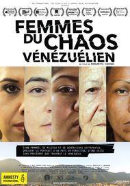 "Movie poster for ""FEMMES DU CHAOS VENEZUELIEN"""