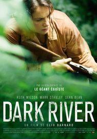 """Affiche du film """"DARK RIVER"""""""