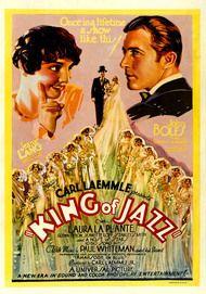 """Filmplakat für """"King of Jazz"""""""