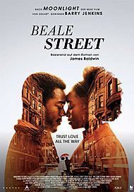 "Movie poster for ""IF BEALE STREET COULD TALK"""