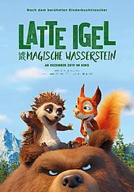"""Movie poster for """"LATTE & THE MAGIC WATERSTONE """""""