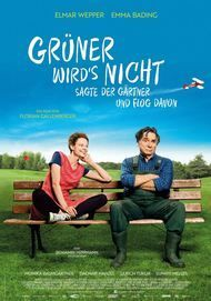 """Filmplakat für """"Grüner wird's nicht, sagt der Gärtner und flog davon"""""""