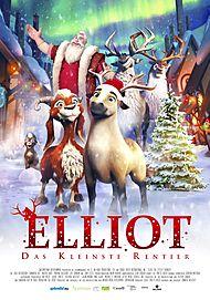 """Movie poster for """"ELLIOT: THE LITTLEST REINDEER"""""""