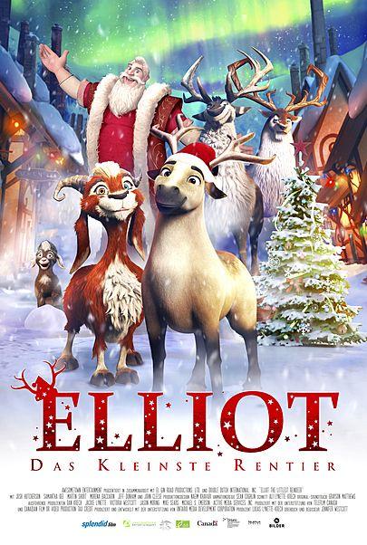 """Filmplakat für """"Elliot, das kleinste Rentier"""""""