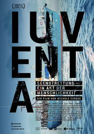 """Filmplakat für """"Iuventa. Seenotrettung - Ein Akt der Menschlichkeit"""""""