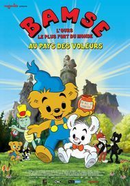"Movie poster for ""Bamse and the City of Thieves"""