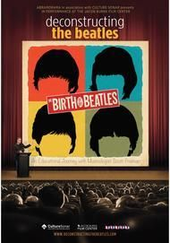 """Movie poster for """"DECONSTRUCTING THE BEATLES: BIRTH OF THE BEATLES"""""""