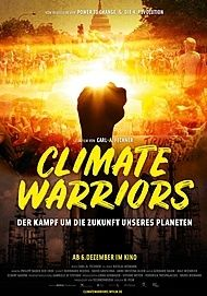 "Movie poster for ""Climate Warriors"""