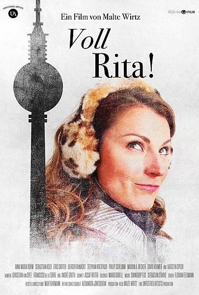 """Movie poster for """"Voll Rita!"""""""