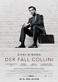 "Movie poster for ""THE COLLINI CASE"""