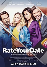 """Movie poster for """"Rate Your Date"""""""