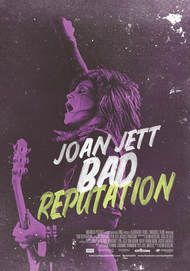 "Movie poster for ""JOAN JETT BAD REPUTATION"""