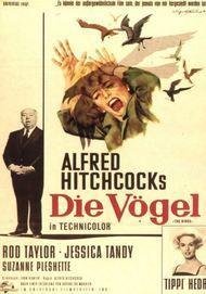 """Filmplakat für """"Die Vögel"""""""