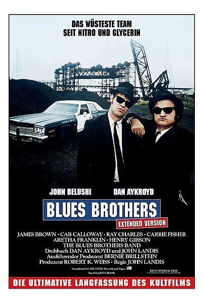 "Filmplakat für ""BLUES BROTHERS - EXTENDED VERSION"""