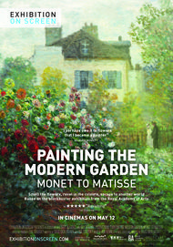 """Movie poster for """"PAINTING THE MODERN GARDEN: MONET TO MATISSE"""""""