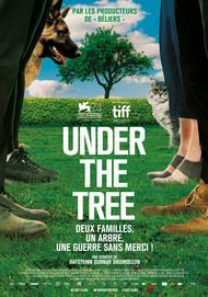 "Movie poster for ""UNDER THE TREE"""