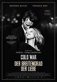 """Filmplakat für """"Der Breitengrad der Liebe - Cold War"""""""