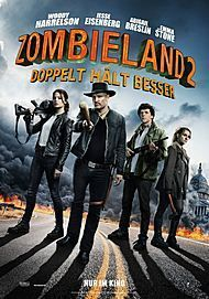 """Movie poster for """"ZOMBIELAND 2: DOUBLE TAP"""""""