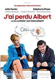 "Movie poster for ""J'AI PERDU ALBERT"""