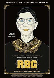 """Filmplakat für """"RBG - Ein Leben für die Gerechtigkeit"""""""