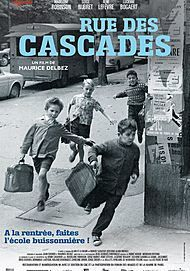 "Movie poster for ""RUE DES CASCADES (Un gosse de la butte)"""