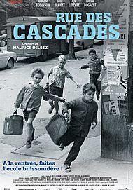 """Affiche du film """"RUE DES CASCADES """""""