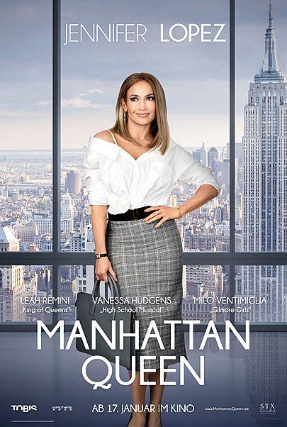 """Filmplakat für """"Manhattan Queen"""""""