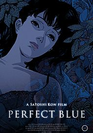 """Movie poster for """"PERFECT BLUE"""""""