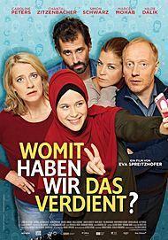 """Filmplakat für """"WOMIT HABEN WIR DAS VERDIENT?"""""""