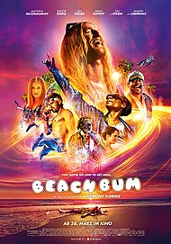 """Movie poster for """"THE BEACH BUM"""""""