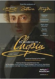 """Movie poster for """"IN SEARCH OF CHOPIN - Exhibition on Screen"""""""