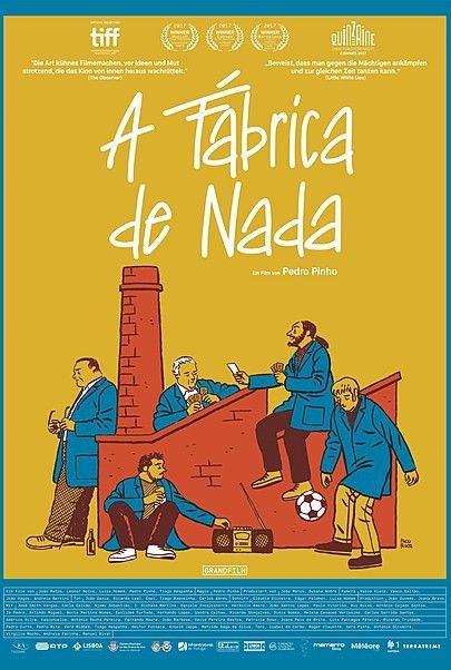 """Filmplakat für """"A Fabrica de Nada"""""""