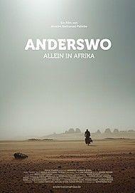 """Filmplakat für """"Anderswo. Allein in Afrika"""""""