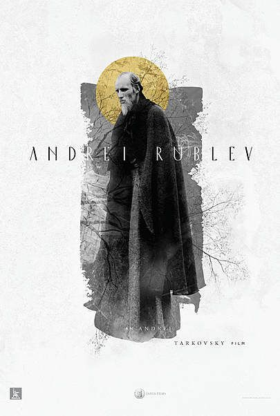 """Movie poster for """"ANDREI RUBLEV"""""""