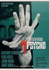 """Filmplakat für """"PSYCHO"""""""