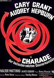 """Filmplakat für """"Charade"""""""