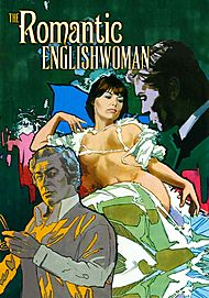 """Movie poster for """"THE ROMANTIC ENGLISHWOMAN"""""""