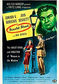 """Movie poster for """"SCARLET STREET"""""""