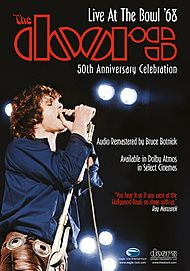 """Movie poster for """"THE DOORS: LIVE AT THE BOWL '68"""""""