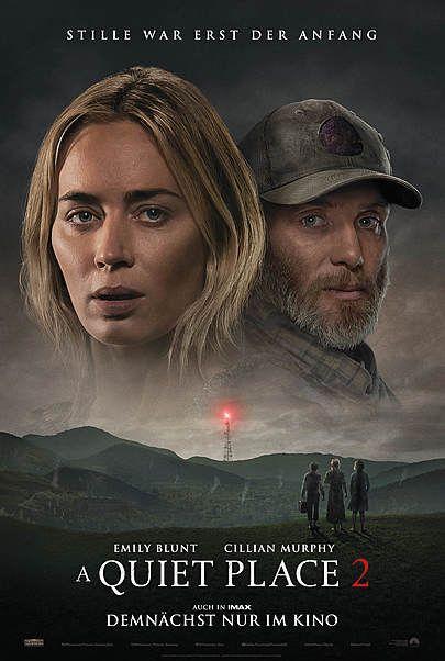 """Filmplakat für """"A QUIET PLACE 2"""""""