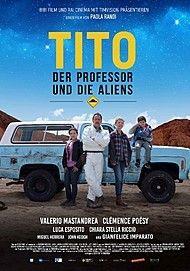 """Filmplakat für """"Tito, der Professor und die Aliens"""""""