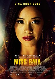 """Movie poster for """"MISS BALA"""""""