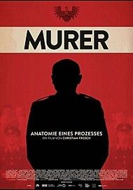 """Movie poster for """"MURER - ANATOMY OF A TRIAL"""""""