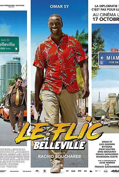 """Movie poster for """"BELLEVILLE COP"""""""